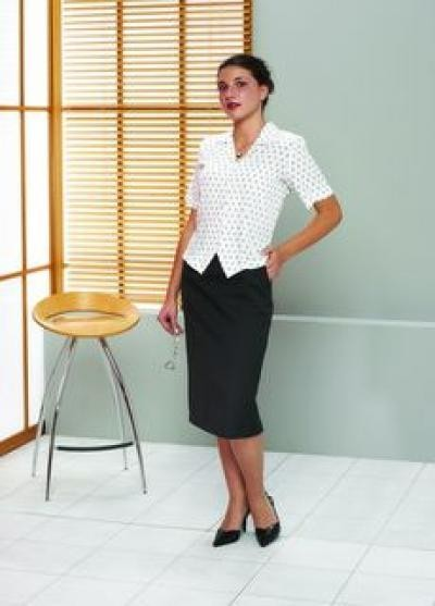 046B Shirt (printed polyester) 082 Skirt (with pockets) image