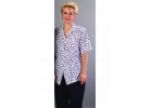 137 Shirt (polyester print, with A/B) 047A Boot Leg Trousers image