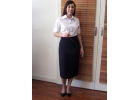 043C Shirt (with cuffs) and 003 Long Skirt image